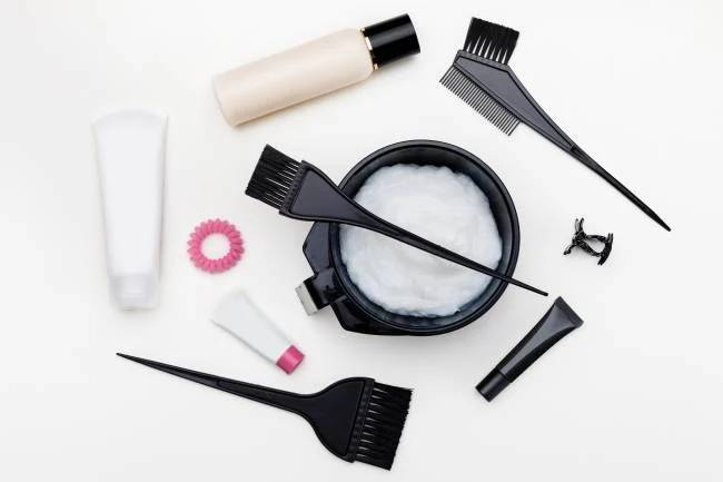 инструменты для домашнего окрашивания волос