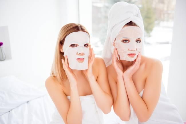 Тканевые косметические маски: особенности применения