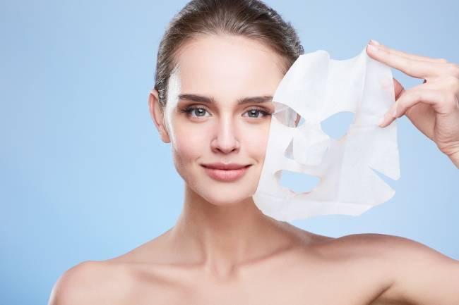 Как пользоваться тканевой маской для лица